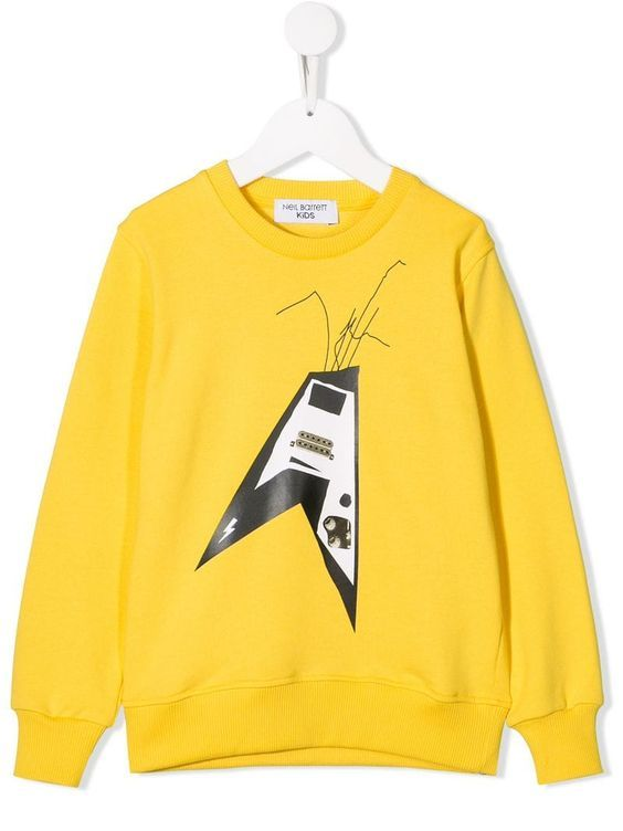 Barrett Guitar Sweatshirt ZNF08