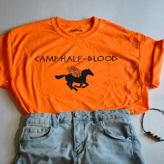 Camp Half Blood T-Shirt ZNF08