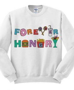 Forever Hungry Graphic Sweatshirt ZNF08
