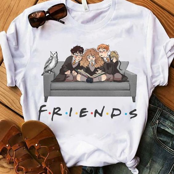 Harry Potter Hermione Ron Weasley Friends Shirt T Shirt ZNF08