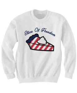 Slice Of Freedom Sweatshirt ZNF08