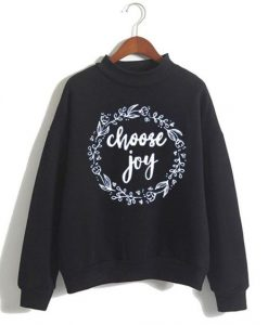 Stylish Cute Choose Joy Sweatshirt ZNF08