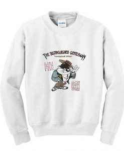 vintage taz the distinguished gentleman sweatshirt ZNF08