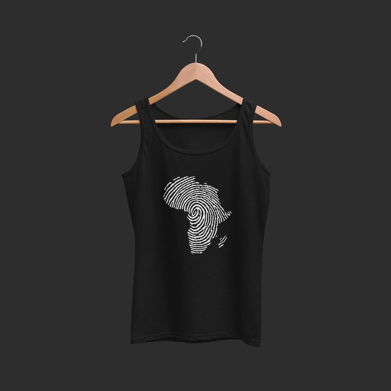 African Root Black Lives Matter Tank Top