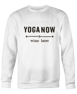 Yoga Now Sweatshirt