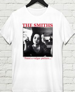 The Smiths paint a vulgar picture T-shirt 247x300