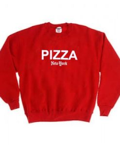 ipizza new york red color Unisex Sweatshirts