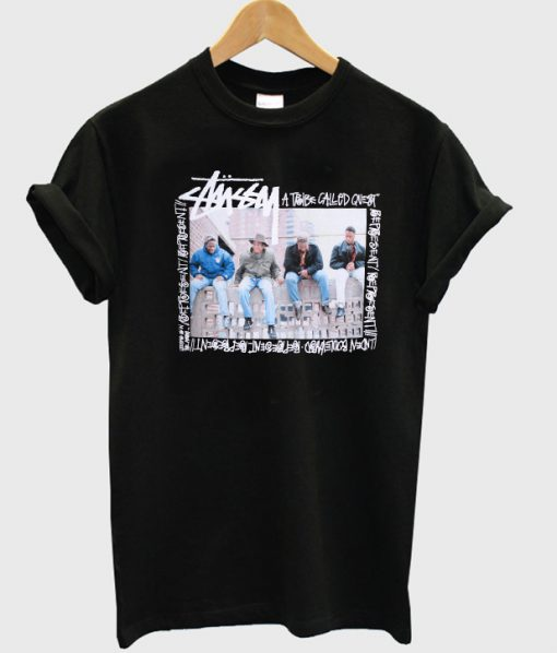 stussy a tribe called tshirt