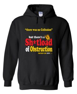 there was no collusion hoodie