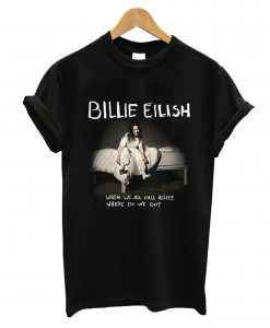 Billie Eilish When We All Fall Asleep World Tour 2021 T-Shirt