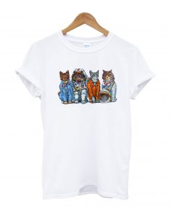 Cat Space Nasa T-Shirt